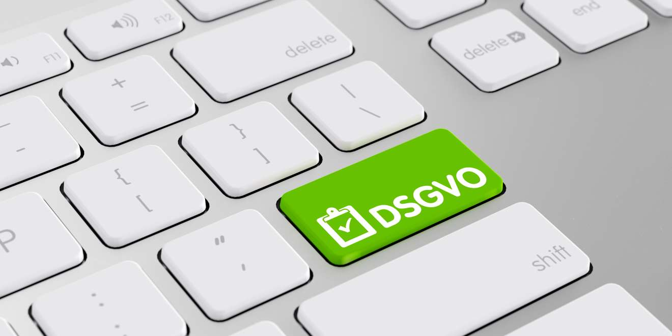DSGVO Tastatur